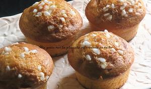 Muffins grains de sucre