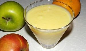 Compote pommes et orange curd