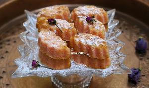 Biscuits feuilles de coco au miel