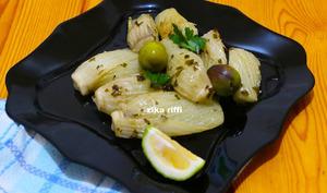 Fenouil braisé ail et vinaigre
