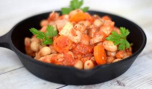 Mogettes à la tomate