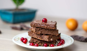 Brownie chocolat aux haricots rouges