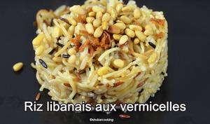 Riz libanais aux vermicelles