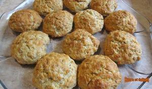 Biscuits à l'orange et aux flocons d'avoine