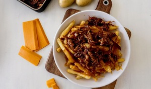 La Poutine au Pulled pork