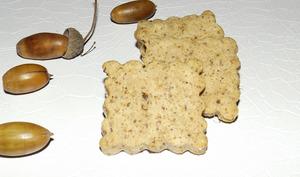 Biscuits sablés aux glands