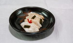 Tsukemono de navet blanc