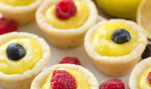 Tartelette au lemon curd