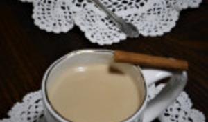 Thé latte chaï au saveurs de Noël