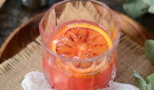 Cocktail Americano à l'orange sanguine