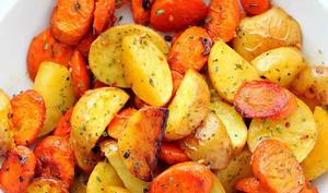Pommes de terre et carottes