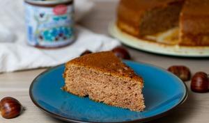Gâteau moelleux à la crème de marrons