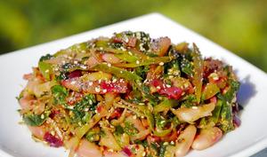 Qalade de légumes et légumineuses acido-basique