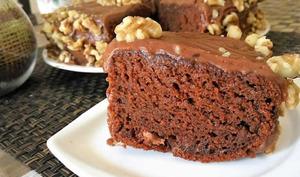 Gâteau au chocolat et yaourt