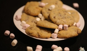 Cookies aux marshmallow
