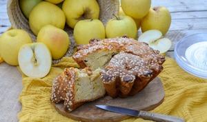 Tourte des Pyrénées aux pommes