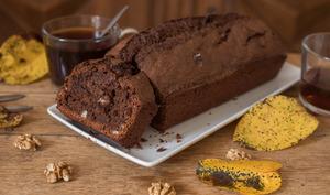 Cake chocolat et noix (réconfort d'automne)