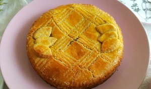 Gâteau Basque à la confiture