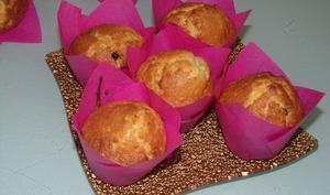 Muffins au caramel et pépites de chocolat noir