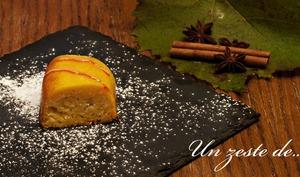 Gâteau moelleux à la butternut et à l'orange