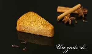 Gâteau au manioc et aux épices