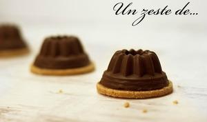 Petit gâteau à la mousse au chocolat