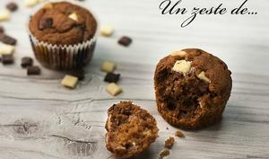 Muffin 3 chocolats