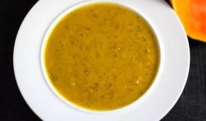 Soupe de butternut et carottes