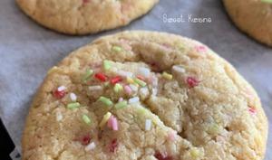 Les cookies confettis