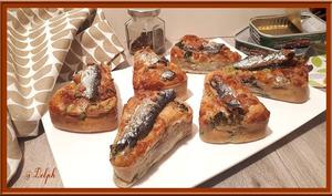 Mini-cakes aux sardines et brocolis