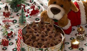 Sablés Petits Sapins Chocolat
