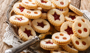 Biscuits de noël à la confiture