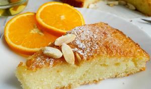 Gâteau à la semoule et orange