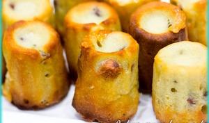 Mini canelés aux 3 fromages