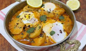 Ragoût de pommes de terre au pouliot
