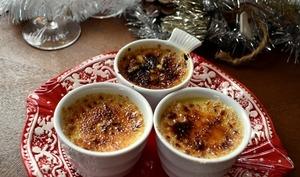 Crème brûlée gorgonzola