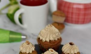 Cupcakes noisettes et fève tonka