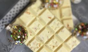 Tablette chocolat blanc façon galak