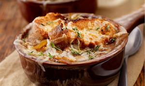 La soupe à l'oignon à l'ancienne