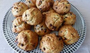 Cookies banane noix et chocolat