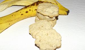 Biscuits sablés aux peaux de banane