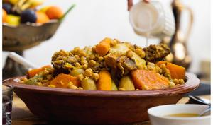 Couscous marocain à la viande de bœuf