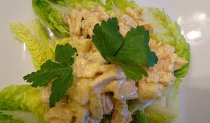 Salade de poulet à l'ananas
