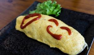 Omelette roulée japonaise