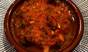 Escargots chermoula