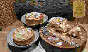 Tartelettes coings, gratte-cul, épeautre