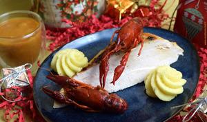Pintade à la bisque de homard