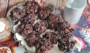 Biscuits au chocolat noir et aux amandes Schatzy