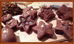 Financiers chocolat noisettes