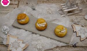 Petits choux à la mousse de foie gras